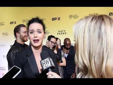 Katy Perry INTERVIEW - 'Prismatic World Tour' Movie Premiere!