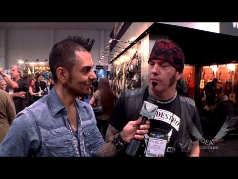 "Dean Artist David ""Evil D"" Vincent of Morbid Angel/Genitorturers Interview at 2013 NAMM."
