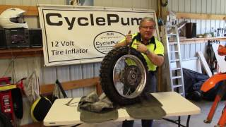 BestRest BeadSpreader - Fitting A Tube Into A Motorcycle Tire