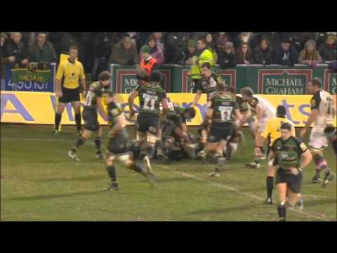 Try of the season 2011- 2012 - Aviva Premiership Rugby