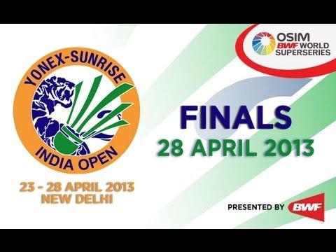F - WD - M.Maeda/S.Suetsuna vs C.Pedersen/K.Rytter Juhl - 2013 Yonex-Sunrise India Open