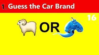 Car  Quiz| gusse brand car  from emoji |car Quiz game' car Quiz game