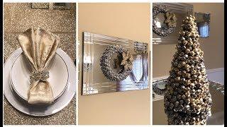 Dollar Tree DIY || 💕 2018 Glam Christmas Home Decor 💕