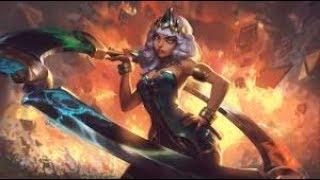 #lol  #leagueoflegends NEW CHAMPION REVEAL (AD Assassin) - Qiyana, Empress of the Elements شرح بسيط