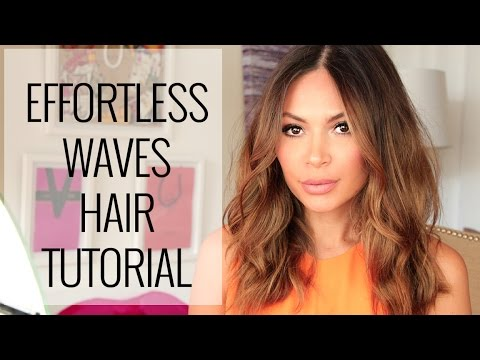 Effortless Waves Hair Tutorial