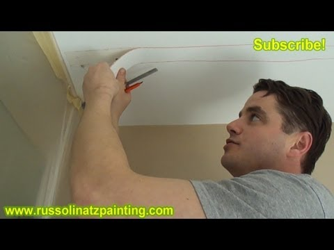 Diy Repair Cracks In The Ceiling By Removing Old Drywall
