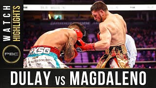 Dulay vs Magaleno HIGHLIGHTS: February 15, 2020 | PBC on FOX