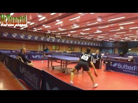 Table Tennis Italian Cadet Championships 2016 - Carlo Rossi Vs John Oyebode -