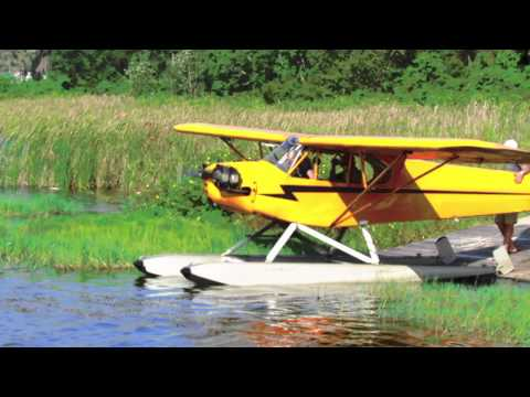 Piper Cub Seaplanes @ Jack Brown's Seaplane Base - Winter Have Airport KGIF