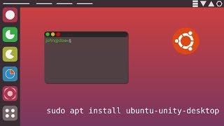 HowTo install Unity 8 on Ubuntu 18.04 LTS