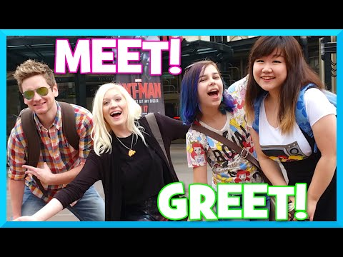 Vidcon Trip VLOG 2 - Meet and Greet with Cybernova, Chad Alan and Dollastic