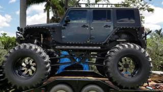 2007 jeep wrangler  monster truck  lifted off road