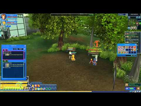 Digimon Masters Online IN ENGLISH!!!