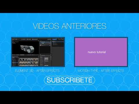 Texto 3D con Textura - Tutorial After Effects