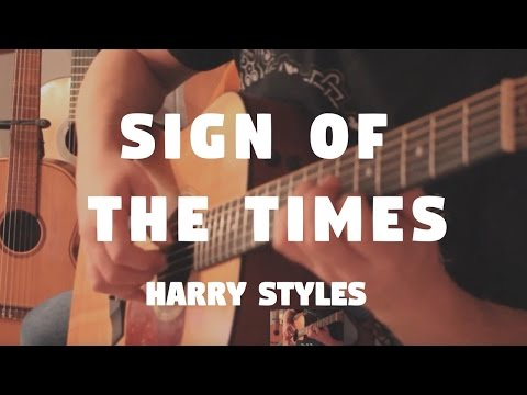 """Harry Styles """"Sign Of The Times"""" on Fingerstyle by Fabio Lima"""