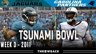"""Tsunami  Bowl"" (Jaguars vs. Panthers 2011, Week 3)"