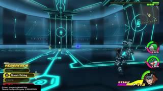 Sora vs Rinzler (The Grid boss) - Kingdom Hearts: Dream Drop Distance HD