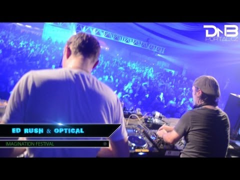 Ed Rush &amp; Optical - Imagination Festival [DnBportal.cz]
