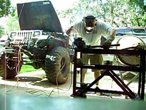 Jeep Alternator welding 1 of 3