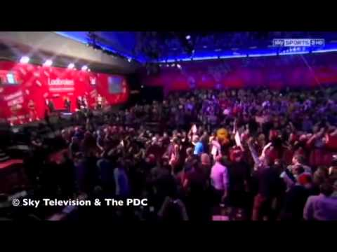 Vincent van der Voort Walk On 2014 PDC World Darts Championship