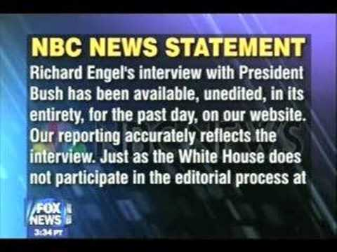 News Watch Panel on the White House - (MS)NBC Feud!