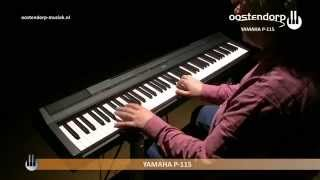 Yamaha P-115 Digitale Piano | Sounddemo