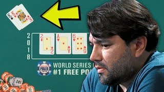 Blowing A Once In A Lifetime Chance (2018 Main Event World Series of Poker)