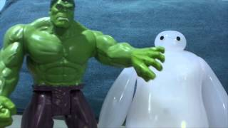 Hulk vs. Baymax from Big Hero 6