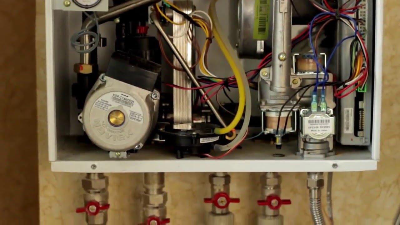 Чем промыть газовый котел навьен своими руками 58