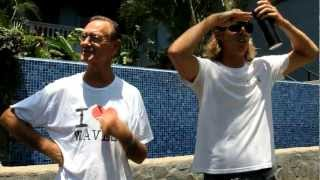 Tamarindo Surf Report with Robert August & Joe Walsh- June 21st 2012 (video)