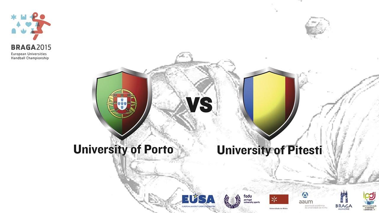 U. Porto vs U. Pitesti | Female | Group A | Lamaçães Sports Hall