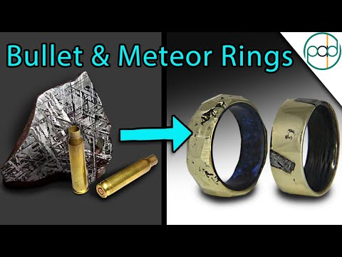 Making Bullet Shell and Meteorite Rings with THE KING OF RANDOM