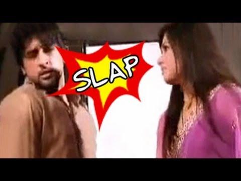 SHOCKING!! Anjali SLAPS Shyam in Iss Pyar Ko Kya Naam Doon 5th October 2012
