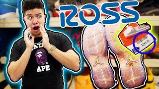 BUYING THE MOST EXPENSIVE SHOES AT ROSS!