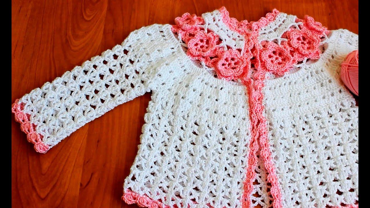 Вязание для девочек кофточка крючок