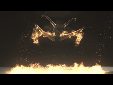 Fire Flight - Phoenix Dance Theatre - (1000fps Super Slow Motion Flaming Dancers) - Klaypex Gamefire