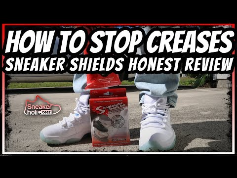 HOW TO PREVENT SNEAKER CREASES | SNEAKER SHIELDS HONEST REVIEW
