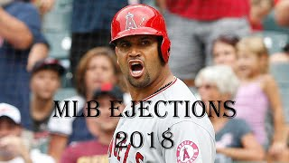 MLB Ejections of 2018 ᴴᴰ