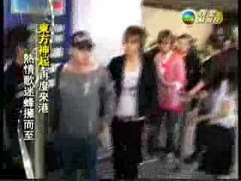 061129 TVB news- TVXQ in Hong Kong [ENG SUBBED]