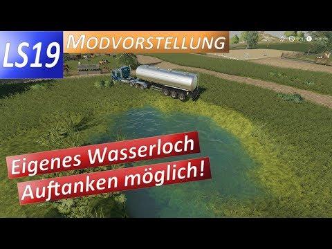 LS19 Teichwasser Store / Wasserloch Modvorstellung inkl. Wasser für die Tiere