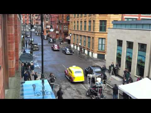 Thumb 6 videos of Chris Evans and the Captain America Set in Manchester
