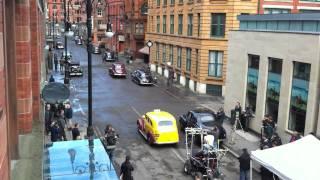 6 videos de Chris Evans y del escenario de Capitán América en Manchester