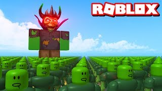 ZOMBIE BOSS FIGHT!! | Roblox Adventures