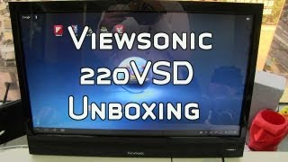 Viewsonic 220VSD 21.5 Smart Display Unboxing