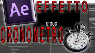 After Effects: Cronometro e Timer
