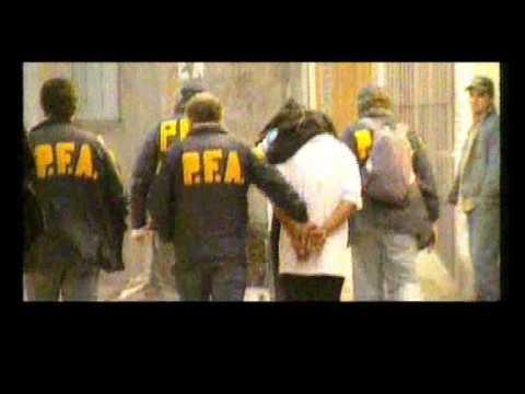 ALLANAMIENTO EN LA VILLA 1-11-14 por el Barrio Rivadavia 1