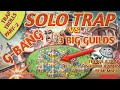 SOLO TRAP vs 3 GUILDS - BIGGEST TROLLS FUNNY || Lords Mobile