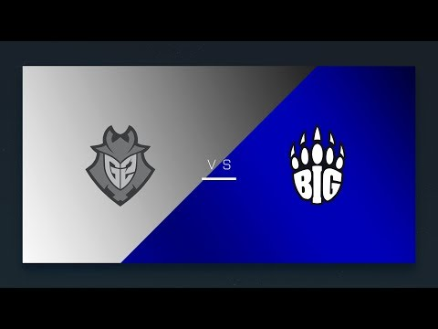 CS:GO - G2 vs. BIG [Cbble] Map 1 - EU Day 22 - ESL Pro League Season 6