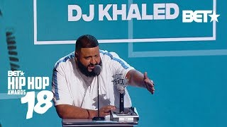 Dj Khaled Is The Best The Best Dj Of Year That Is Hip Hop Awards 2018