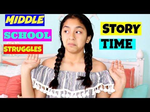 Middle School Struggles + Story Time |B2cutecupcakes